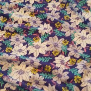 LuLaRoe Skirts - Bnwt Lularoe slinky floral 2xl maxi skirt